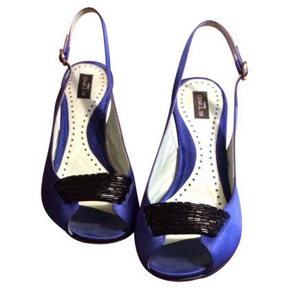 Etro peep toes slingback