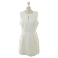 Diane von Furstenberg Schede jurk in crème