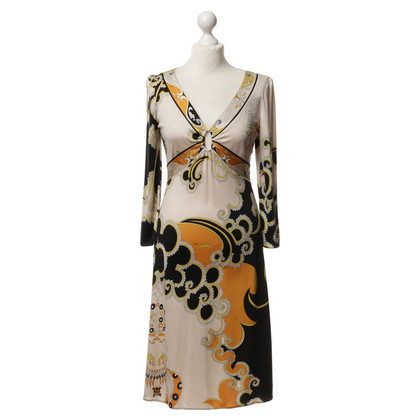 Emilio Pucci Silk dress with pattern