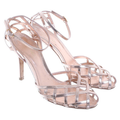 Sergio Rossi High studded leather sandals