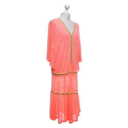Andere merken Pitusa - kleed in oranjerood