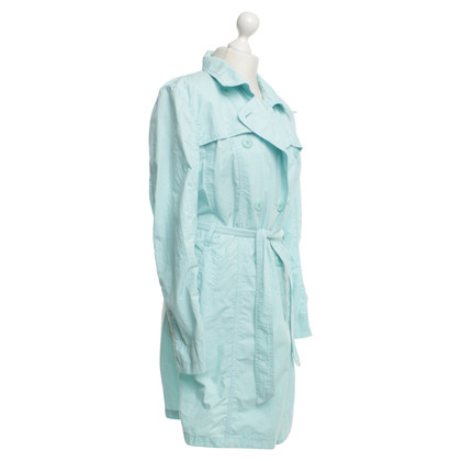 Marc Cain Trenchcoat in turquoise