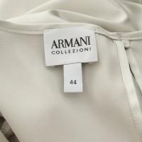 Armani Collezioni Top en gris clair
