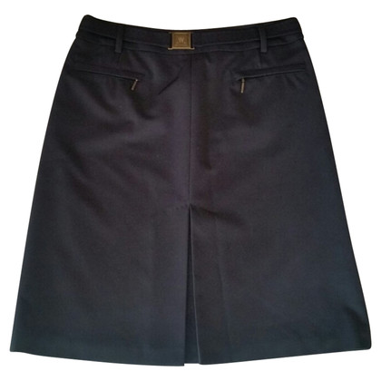 Max Mara Black cotton skirt