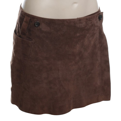 JOOP! Trouser skirt made of suede leather