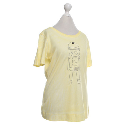 Fendi T-shirt in giallo
