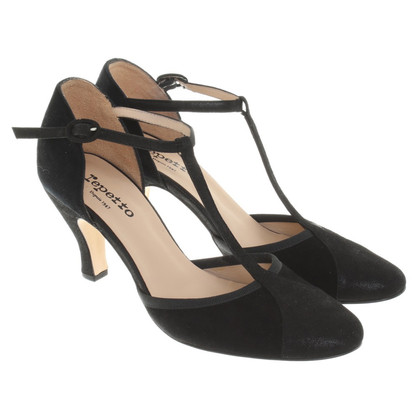 Repetto pumps in zwart