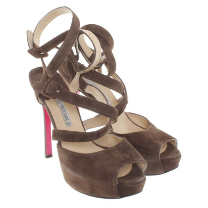Luciano Padovan Sandals in Brown