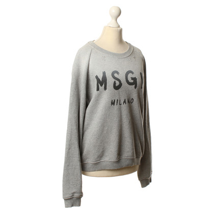 MSGM Pullover in grey