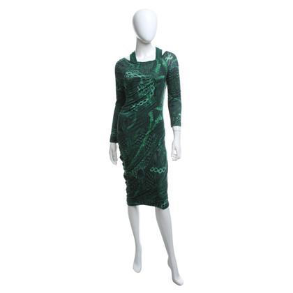 Alexander McQueen Kleid mit Muster