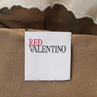 Red Valentino Kanten jurk in zwart / Cream