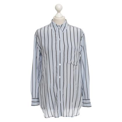 Equipment Oversized silk blouse