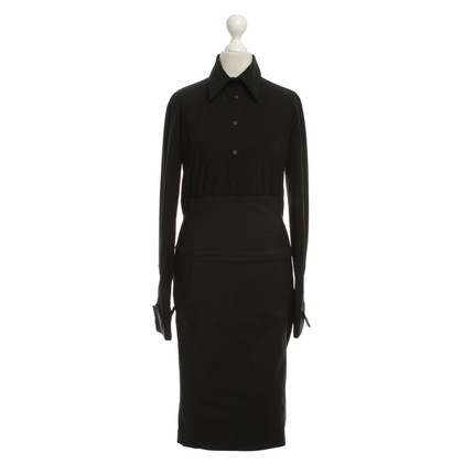 Elisabetta Franchi Shirt dress in black