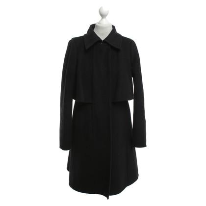 Sport Max Coat in black