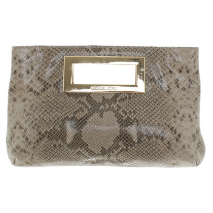 Michael Kors clutch reptiel optica