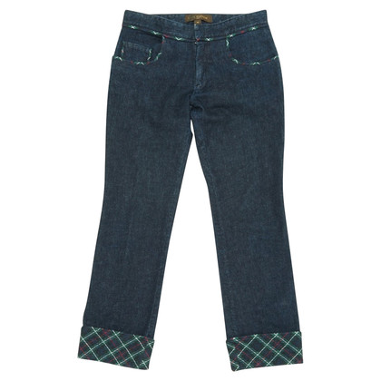 Louis Vuitton jeans with pattern