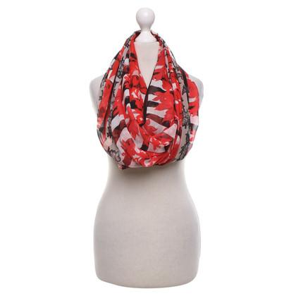 Talbot Runhof Zijden sjaal met print