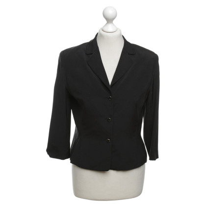 Escada Silk Blazer in black