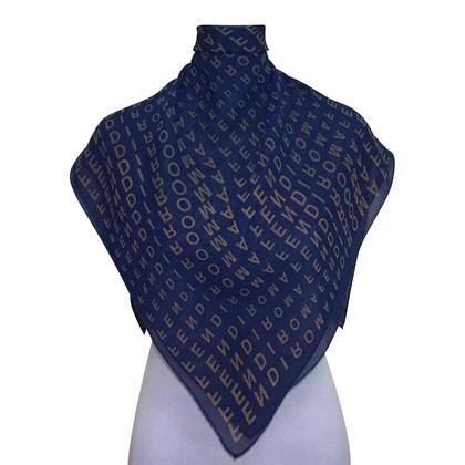 Fendi FENDI Logo Zijden sjaal
