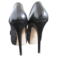 Elisabetta Franchi Leather pumps with bow