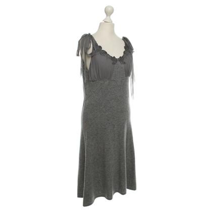 Valentino Wollen jurk in grijs