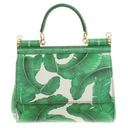 Dolce & Gabbana Handbag with palm print