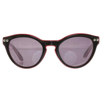 Moschino Sonnenbrille in Schwarz