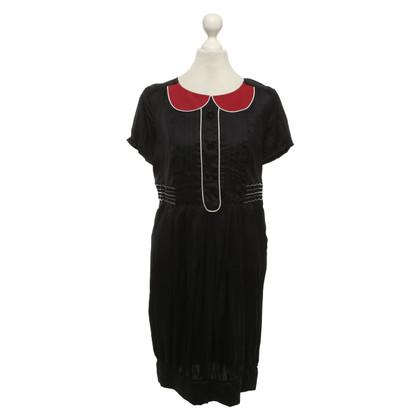 Antonio Marras Dress in dark blue / red