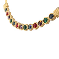 Swarovski Gold color necklace