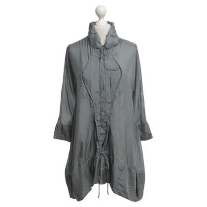 Marithé et Francois Girbaud Silk dress in grey