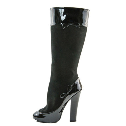 Louis Vuitton Boots patent leather