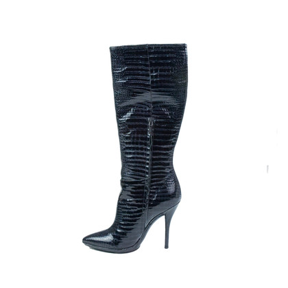 Casadei Patent leather boots