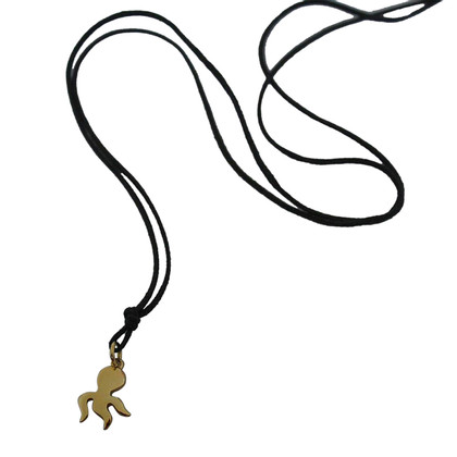 Pomellato Chain with yellow gold pendant