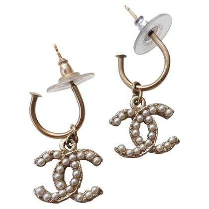 Chanel parel oorbellen