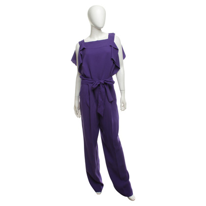 Escada Jumpsuit in Violett
