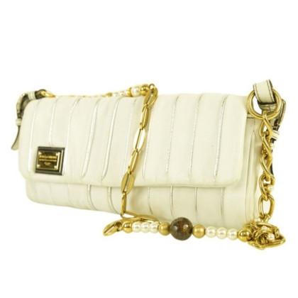 Dolce & Gabbana Leder-Umhängetasche