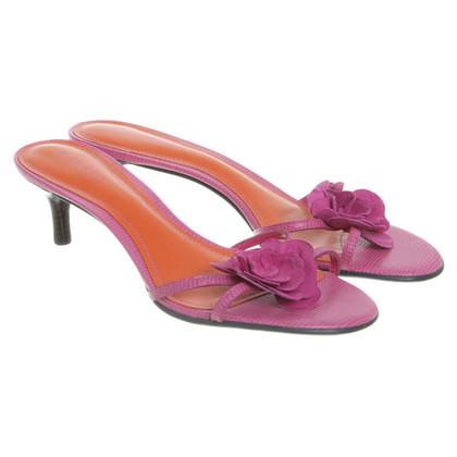 Ralph Lauren Mules in Pink/Orange