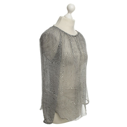 Isabel Marant Etoile Camicia in bianco / nero