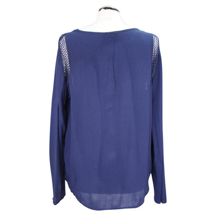 Joseph Top in blu scuro