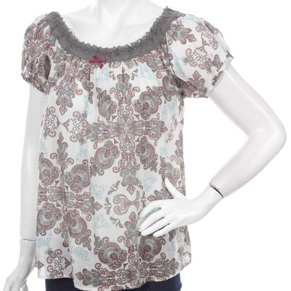 Odd Molly Blouse met Paisley patroon