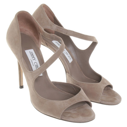 Jimmy Choo sandali in camoscio