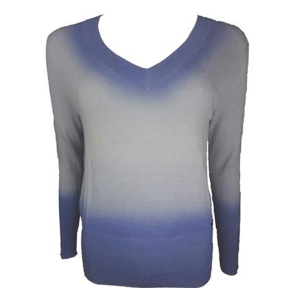 John Galliano Lilac dip-dye sweater