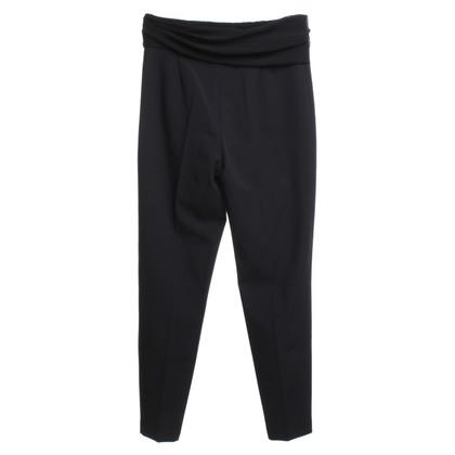 Elisabetta Franchi trousers in black