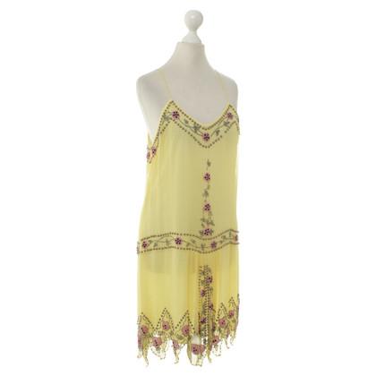 Blumarine Robe tablier en soie