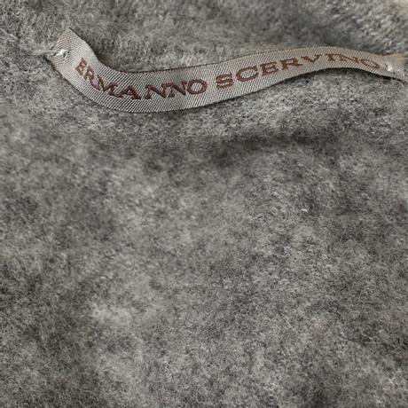 Ermanno Kleid Grau Scervino in Scervino Kurzes Kurzes Grau Kleid Ermanno TSTUrBxvqw