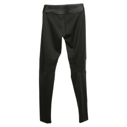 Philipp Plein Biker pants in black