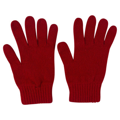 Burberry Gants rouges