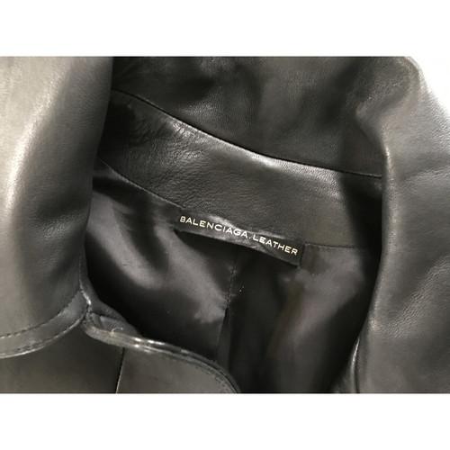 super populaire 15aa4 ef8ac Balenciaga Veste en cuir - Acheter Balenciaga Veste en cuir ...