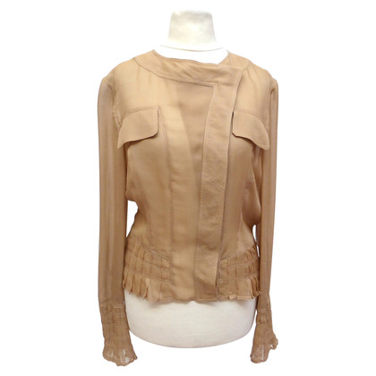 Gucci Silk blouse with pleats