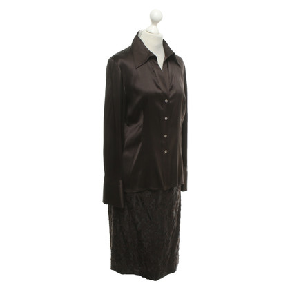 Windsor 2-piece silk dress